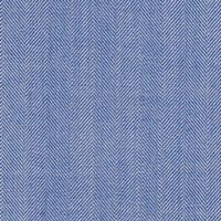 Blue&White 80% Super 130S Wool 20% Silk Custom Suit Fabric