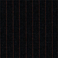 Black 100% Super 160'S Wool Custom Suit Fabric