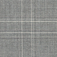 Black&White 100% Super 160S Wool Custom Suit Fabric