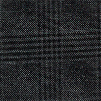 Char Gray 100% Super 160S Wool Custom Suit Fabric