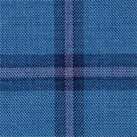 Blue 100% Super 160S Wool Custom Suit Fabric
