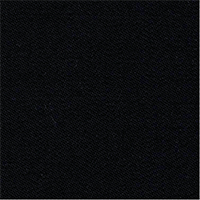 Black 100% Super 140'S Wool Lustrous Custom Suit Fabric