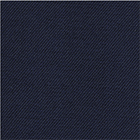 Navy 98% Super 140'S Wool 2% Lycra Custom Suit Fabric