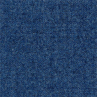 Blue 100% Super 140'S Wool Flannel Custom Suit Fabric