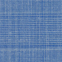 Heather Blue 50% S140swool 40%Silk 10%Linen Custom Suit Fabric