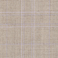 Beige 100% Super 140'S Wool Custom Suit Fabric