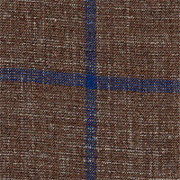 Brown 50% S140swool 40%Silk 10%Linen Custom Suit Fabric