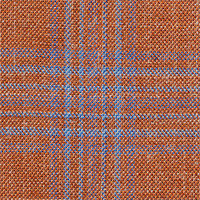 Orange 87% Wool 10% Silk 3% Linen Custom Suit Fabric