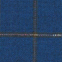 Royal Blue 38%Woolworsted31%Silk31%Linen Custom Suit Fabric