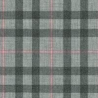 Light Gray 100% Super 100'S Wool Worsted Custom Suit Fabric