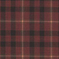 Red 100% Super 100'S Wool Worsted Custom Suit Fabric