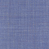 Powder Blue Super 140'S Wool/Silk/Linen Custom Suit Fabric