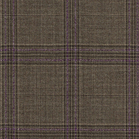 Brown 100% Super 140'S Wool Custom Suit Fabric