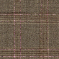 Light Brown 100% Super 140'S Wool Custom Suit Fabric