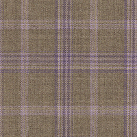 Dark Tan 100% Super 140'S Wool Custom Suit Fabric