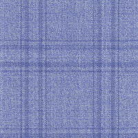 Powder Blue 100% Super 140'S Wool Custom Suit Fabric