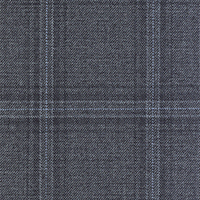 Dark Gray 100% Super 140'S Wool Custom Suit Fabric