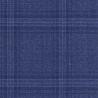 Azure 100% Super 140'S Wool Custom Suit Fabric