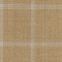 Golden Taupe 100% Super 140'S Wool Custom Suit Fabric
