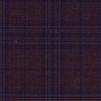 Red Rust 100% Super 140'S Wool Custom Suit Fabric