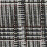 Black&White 100% Super 100'S Worsted Custom Suit Fabric
