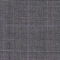 Gray 100% Super 160'S Worsted Custom Suit Fabric