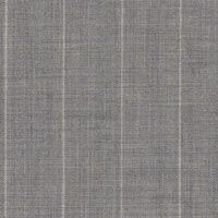 Light Gray 100% Super 160'S Worsted Custom Suit Fabric