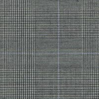 Black&White 100% Super 160'S Worsted Custom Suit Fabric