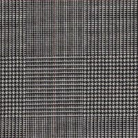 Black&White 70% S120s Worsted 30% Teclana Custom Suit Fabric
