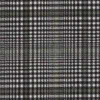 Black&White 75% S160's Wool 25% Silk Custom Suit Fabric