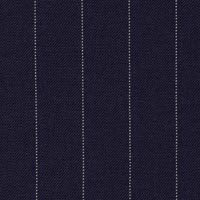 Blue 100% Super 160'S Worsted Custom Suit Fabric