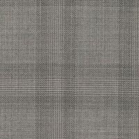 Silver Gray 100% Super 160'S Worsted Custom Suit Fabric