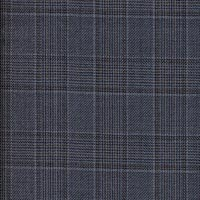 Slate Blue Super 180'S Black Pearl Custom Suit Fabric