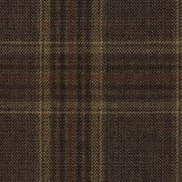 Brown 100% S130s Merino Wool Custom Suit Fabric