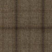 Tan 100% S130s Merino Wool Custom Suit Fabric