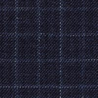 Navy 38% Merninowool31%Silk31%Linen Custom Suit Fabric