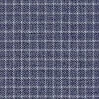 Blue 75% S120s Merino 25%Silk Custom Suit Fabric