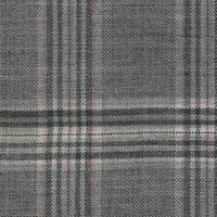 Silver Gray 54%S160sworsted 30%Cash16%Silk Custom Suit Fabric