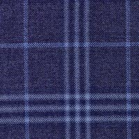 Blue 100% Super 200S Wor Sapphire Custom Suit Fabric