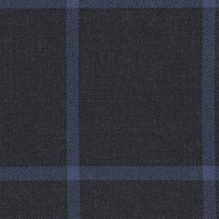 Navy 100% Super 200S Wor Sapphire Custom Suit Fabric