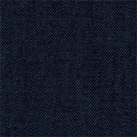 Char Blue 100% Super 120'S Wool Custom Suit Fabric