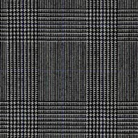 Black&Silver 100% Wool Worsted Custom Suit Fabric