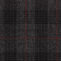 Dark Gray 100% Wool Worsted Custom Suit Fabric