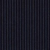 Dark Navy 80% S100s Worsted 20% Mohair Custom Suit Fabric