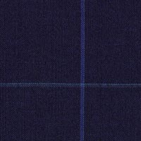 Navy 80% S100s Worsted 20% Mohair Custom Suit Fabric