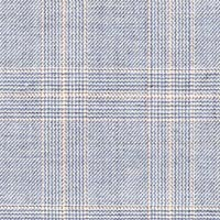 Light Blue 100% Super 120'S Worsted Custom Suit Fabric