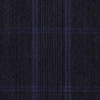 Navy 60% Scottish Wool 40% Silk Custom Suit Fabric