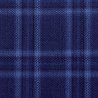 French Blue 100% Wool Super Merinos 130'S Custom Suit Fabric
