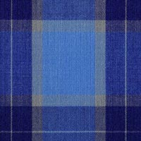 Blue 100% Fine Merino Wool Custom Suit Fabric