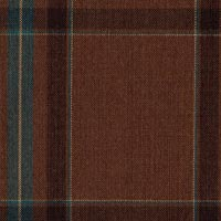Brown 100% Fine Merino Wool Custom Suit Fabric